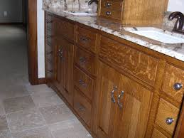 Bathroom And Kitchen Cabinets by Quarter Sawn Oak Cabinets Kitchen Bathroom Vanity Quarter Sawn