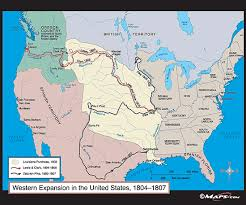 map us expansion western expansion in the united states map 1804 1807 by maps