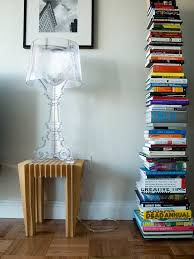 Kartell Bourgie Table Lamp Bourgie Table Lamp W Sapien Bookcase Right Michael Surtees