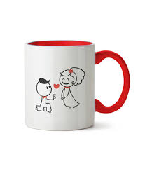 cute cartoon love propose mug sector bazar shop easier cheaper