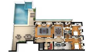Penthouse Suite King George A Luxury Collection Hotel Athens Floor Plan 3d Suite