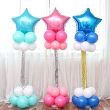 balloon columns balloon columns bass balloons wedding baby birthday partywelcome