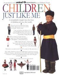 children just like me a unique celebration of children around the