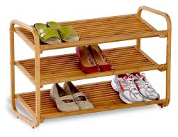 expensive price of cool outdoor shoe rack in brown made of wooden