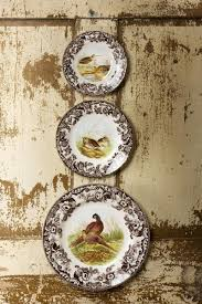 spode woodland 27cm plate rg thoroughbred