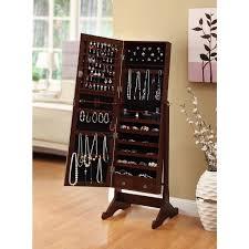 Computer Cabinet Armoire by Amazon Com Btexpert Premium Cherry Cheval Mirror Jewelry Cabinet