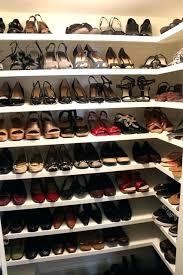 closet shoe storage its purge and organize season around here and