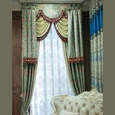 champagne floral shabby chic luxury floor to ceiling curtains