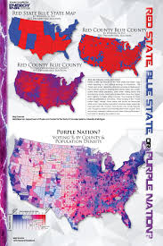 Red State Map by Energy Ink Magazine Red State Blue State Purple Nation