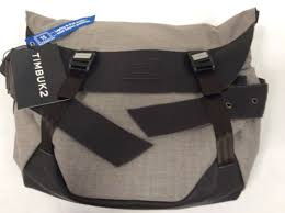 timbuk2 bici messenger bag tan canvas leather backpack rugged