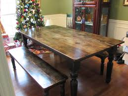 farm farmhouse table w matching benches just fine tables