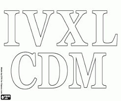 roman numerals coloring pages printable games
