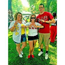 white descendant of slave owners is a member of dst sorority