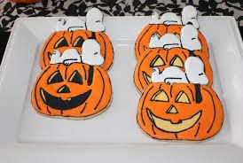 Halloween Pumpkin Sugar Cookies - snoopy halloween cookie blondie u0027s sugar art