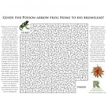 Tlsbooks English Worksheets Poison Arrow Frog And English Worksheets Ks2 Free Printable