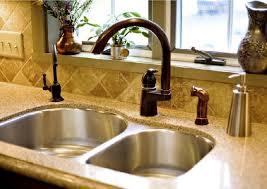 bronze kitchen sink faucets bronze kitchen faucet with stainless sink designfree