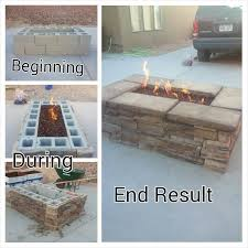 Diy Natural Gas Fire Pit by Best 10 Deck Fire Pit Ideas On Pinterest Patio Stores Near Me