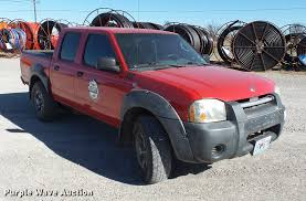 lifted 2003 nissan frontier 2003 nissan frontier crew cab pickup truck item da2453 w