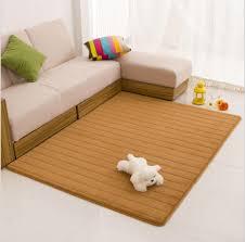 non toxic area rugs 100 x 160cm coral fleece memory foam carpet non slip water
