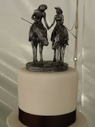 horse wedding cake toppers include your love of horses on your