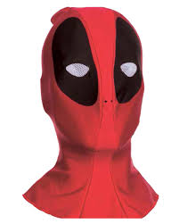 deadpool fabric mask halloween accessory walmart com