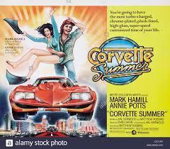 corvette summer poster corvette summer 1978 stock photo royalty free image