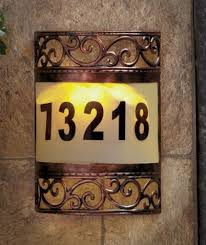 home decor address decorative house number signs remarkable unique address decoration