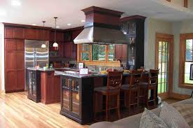 Mahogany Kitchen Designs Kitchens With Cherry Hardwood Floor Enchanting Home Design