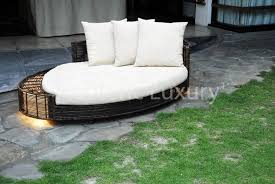 modern outdoor daybed furniture design sculptural collection by