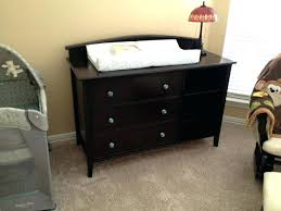 cherry changing table dresser combo baby changer and dresser medium size of baby changing table dresser