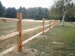 split rail fence lowes amazing fence provides safety barrier with