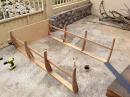 how to build a boat bed from scratch barnorama