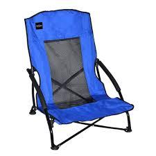 Low Back Beach Chair Caravan Sports Blue Patio Compact Chair 80012900020 The Home Depot