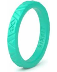 sweet deal on women s rinfit women s thin silicone ring rubber