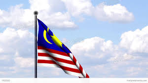 Malaysai Flag Animated Flag Of Malaysia Stock Animation 1903565