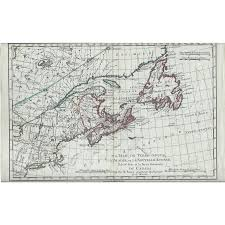 Map Of Eastern Canada by 1787 Map Of North America U0026 Eastern Canada From Vanbibber On Ruby Lane
