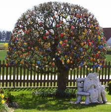german easter egg tree easter in germany easter tree german tradition of decorating