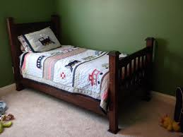 Mission Style Bedroom Furniture Hand Made Twin Size Mission Style Bed By The Wooden Knot