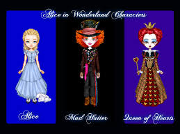 alice wonderland characters hraygurl deviantart