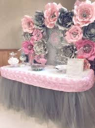 pink and silver baby shower it s a girl pink and silver baby shower party ideas baby shower