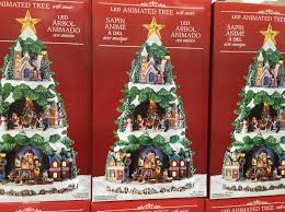animated tree decorations singing trees for