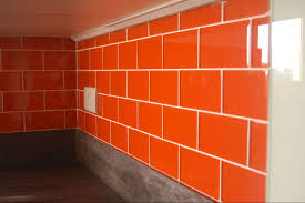 Kitchen Backsplash Panels Uk Wonderful Kitchen Tiles Orange Mediterraneankitchen C With Design