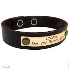 custom engraved bracelet adjustable name bracelet personalized men s engraved wristband
