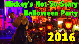 halloween party photo mickey u0027s not so scary halloween party 2016 detailed overview