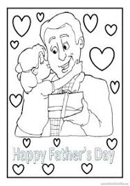 kindergarten fathers day coloring pages archives preschool crafts
