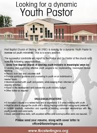 Pastor Resume Template Youth Pastor Cover Letter