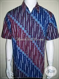 desain baju batik pria 2014 trend kemeja batik pria 2014 hadir dengan model lengan pendek