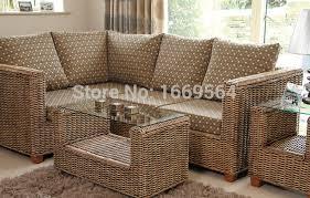 canapé rotin pas cher salon de jardin jardin pas cher meubles en rotin salon en osier