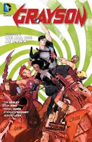 review grayson vol 2 we all die at dawn trade paperback dc