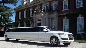 Audi Q7 Limo - camelot specialty limos long island luxury weddings